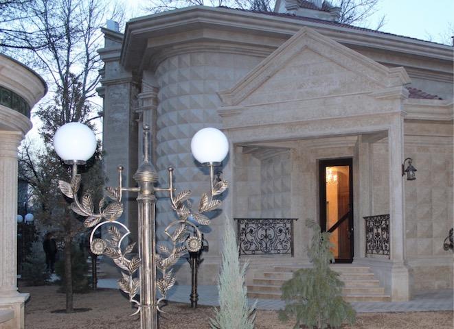 Объемные фасадные 3D панели из полиуретана